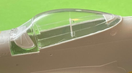 Image of P-51 Mustang Canopy Set for 1/32 Revell kit