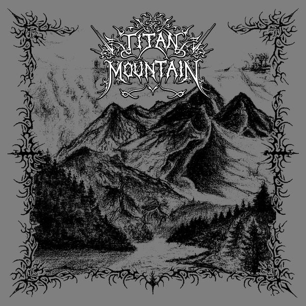 Image of TITAN MOUNTAIN - ABOVE FANGS OF MAJESTIC STONETITANS 12''