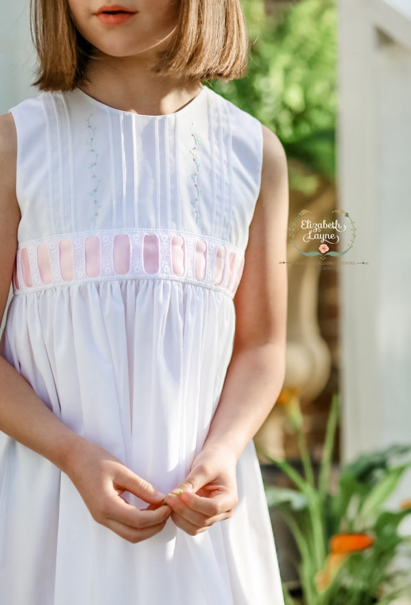 Image of Size 6/7 Keyhole Lillybelle Dress