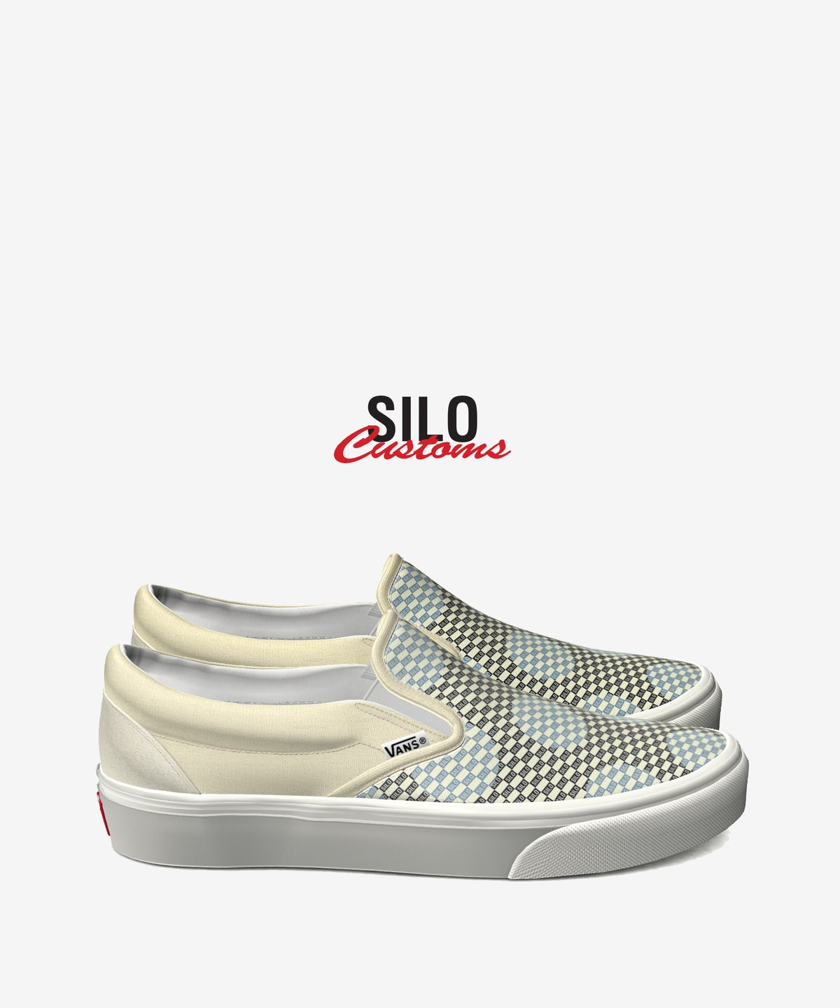 "Image of VANS X SILO ""FOOT THE BILL"" CUSTOM SHOE"