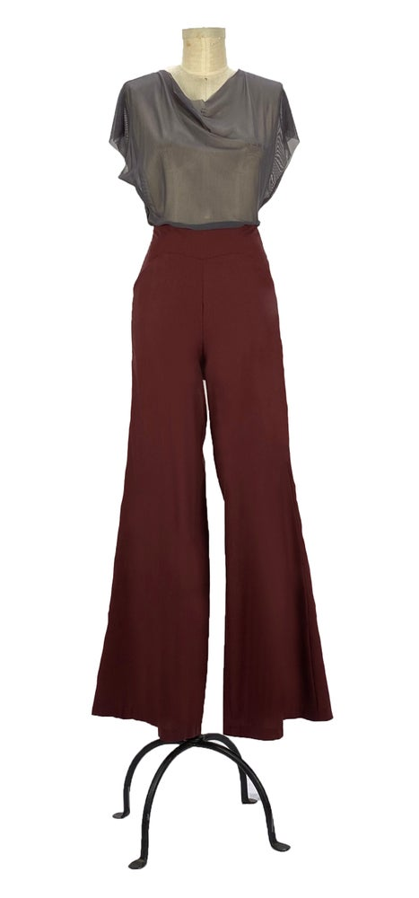 Image of zully pants Burgundy