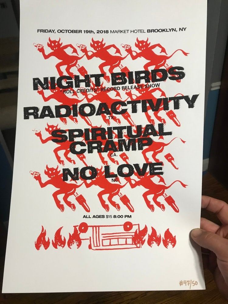 Night Birds Poster
