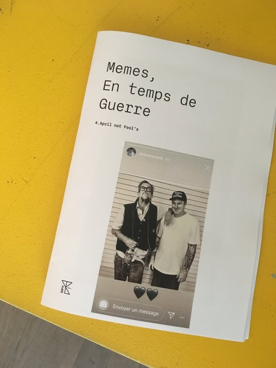 Image of Memes, en temps de guerre - issue 4