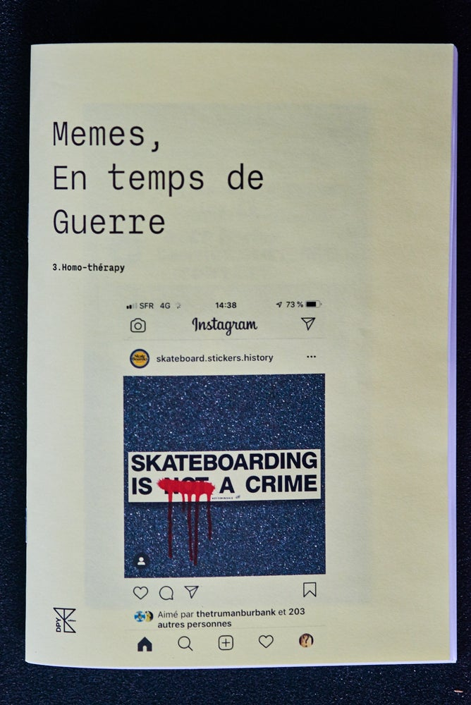 Image of Memes, en temps de guerre - issue 3
