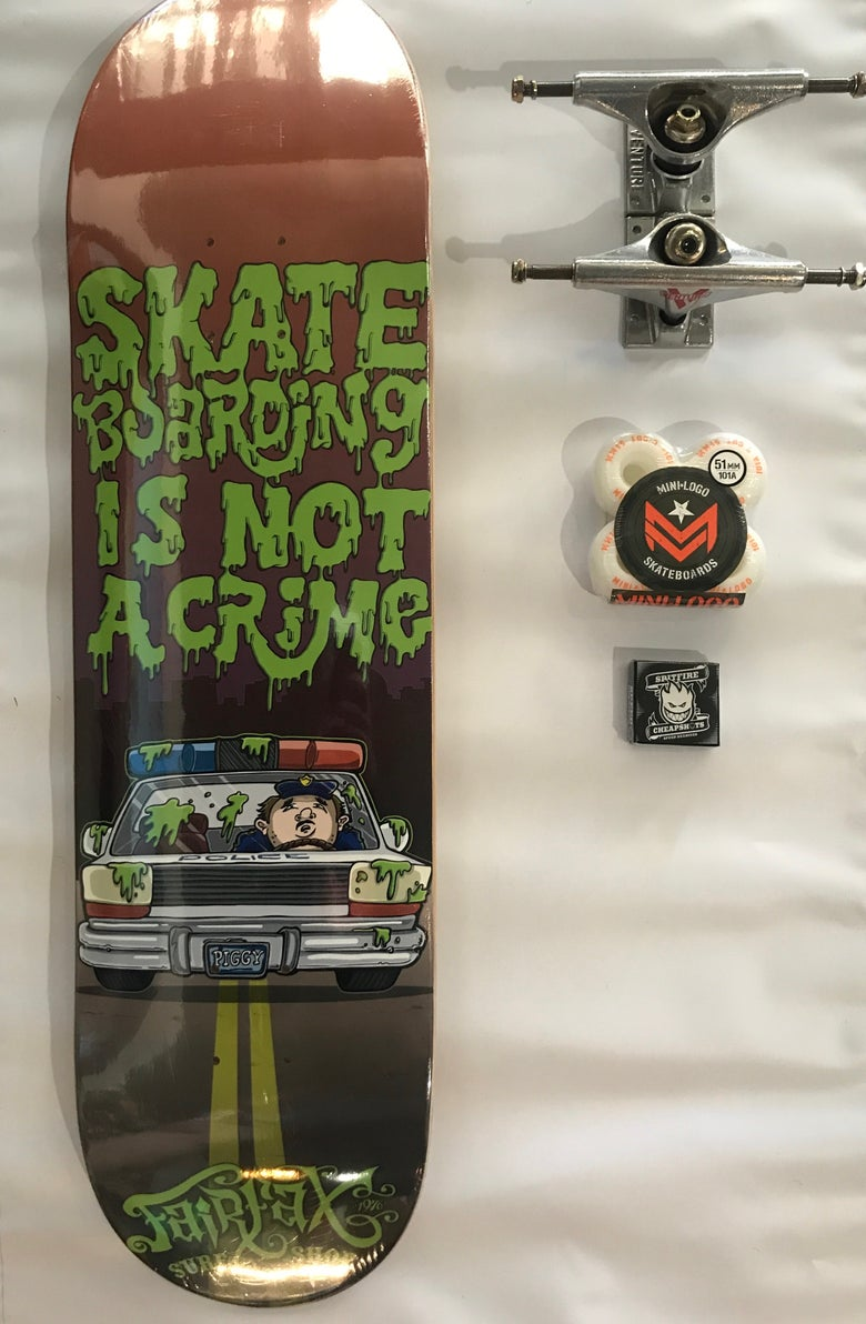 Image of Skateboarding is not a Crime Complete