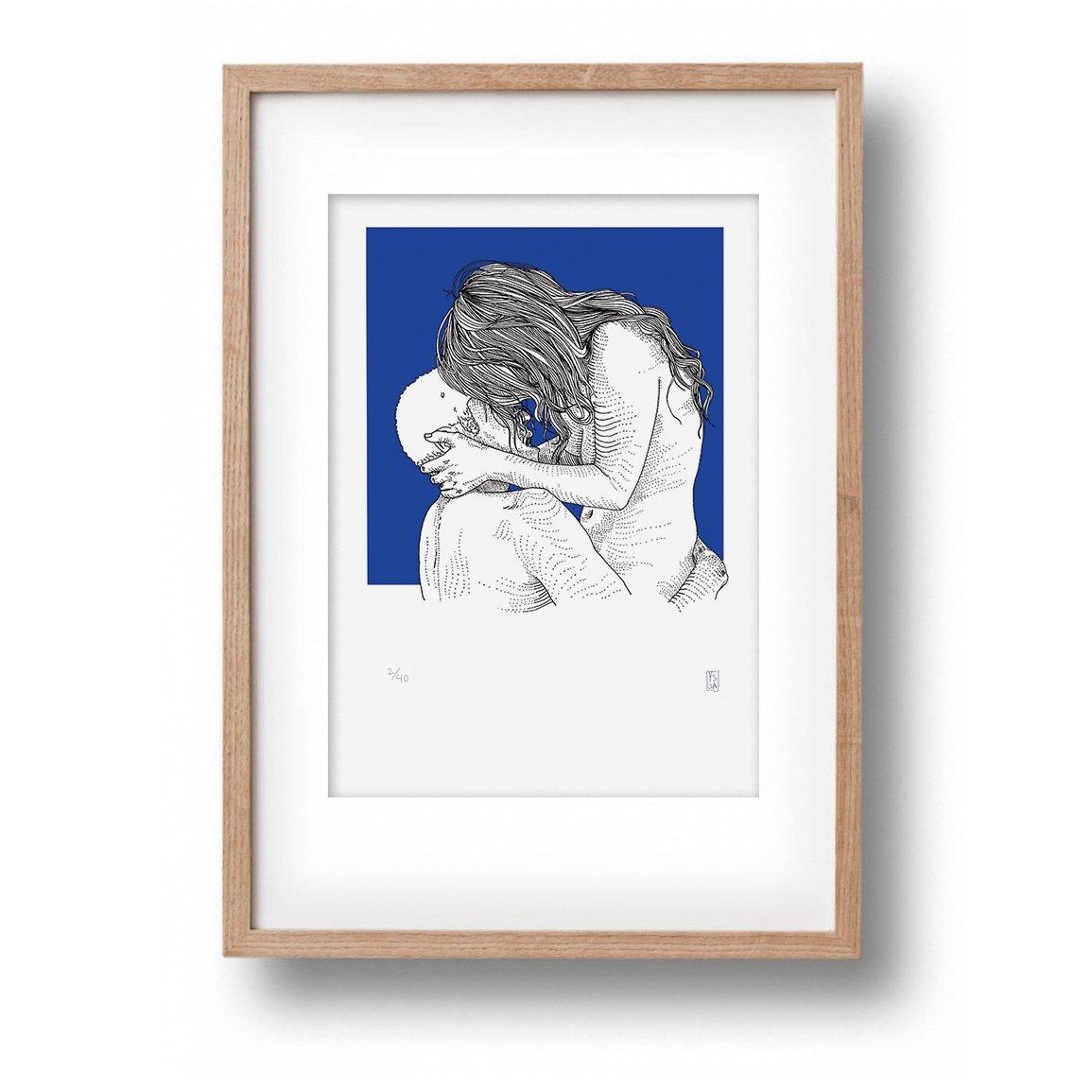 Image of Nr 101 Between The Lines Print