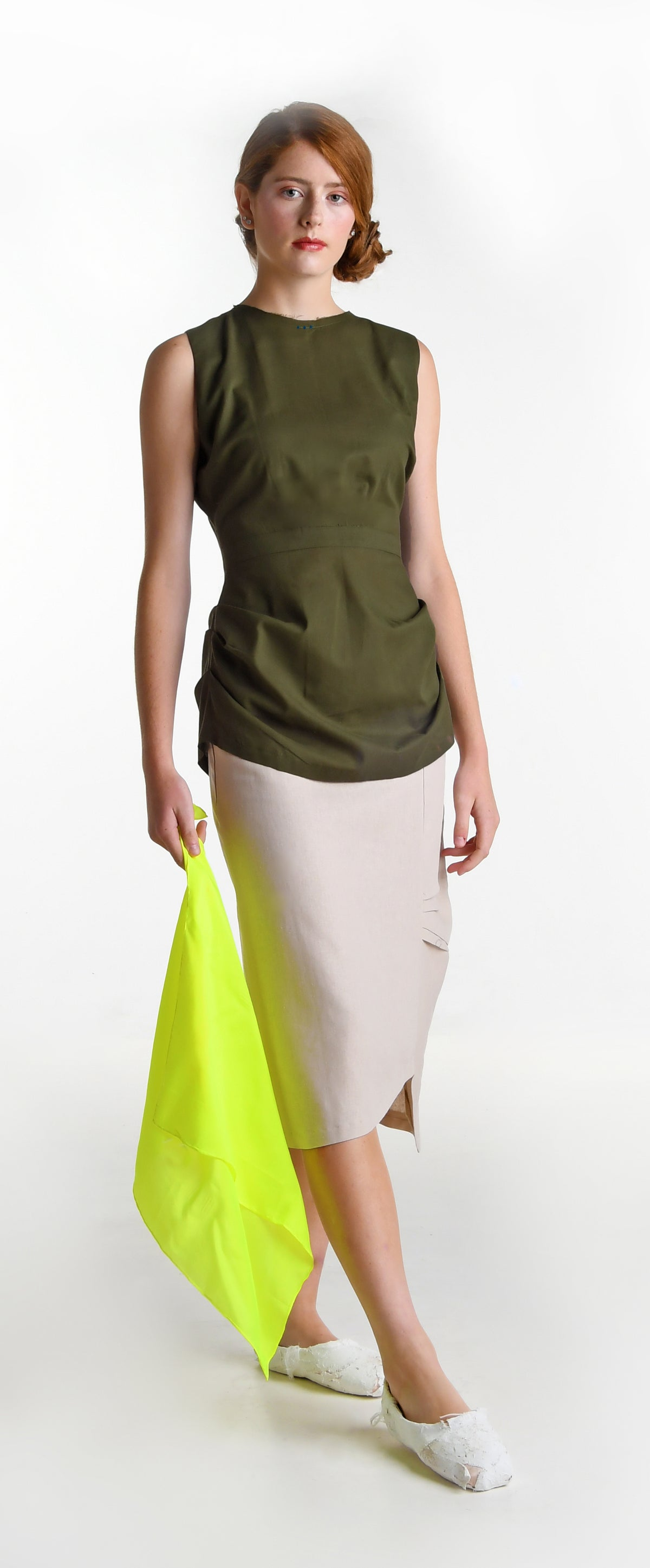 Image of lumiere top olive