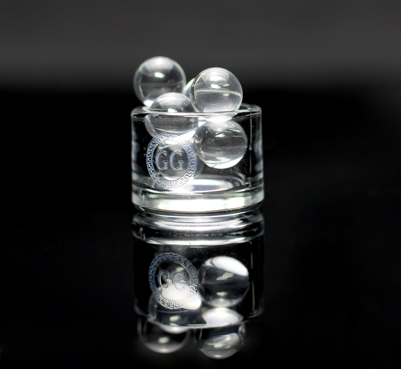 Image of Jumbo Sapphire Terp Ball