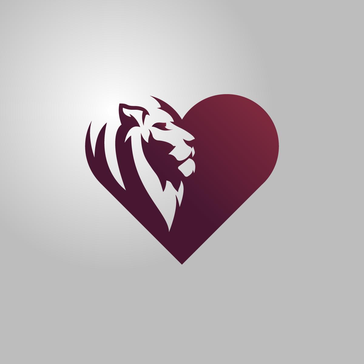 "Image of ""Lionheart"" One-Time Sale Logo"