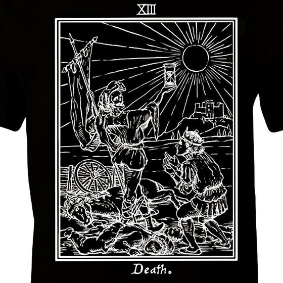 Image of Death Tarot
