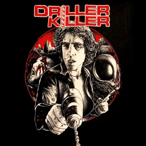 Image of Driller Killer Shirt (Front & Back Print)