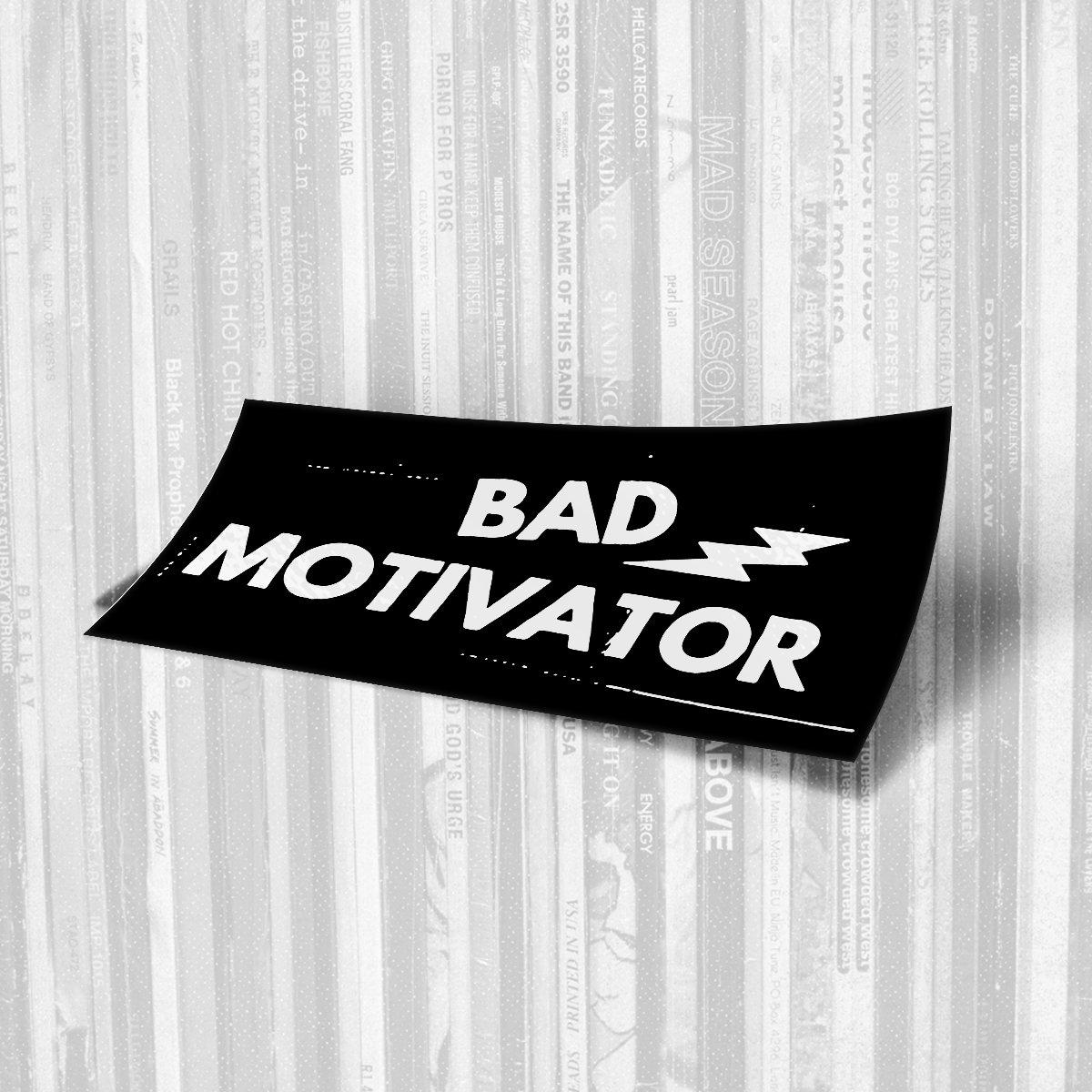 Bad Motivator - Logo Sticker
