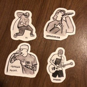 Image of BHC sticker pack