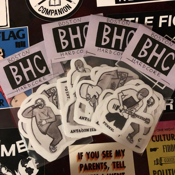 Image of **NEW** BHC sticker pack