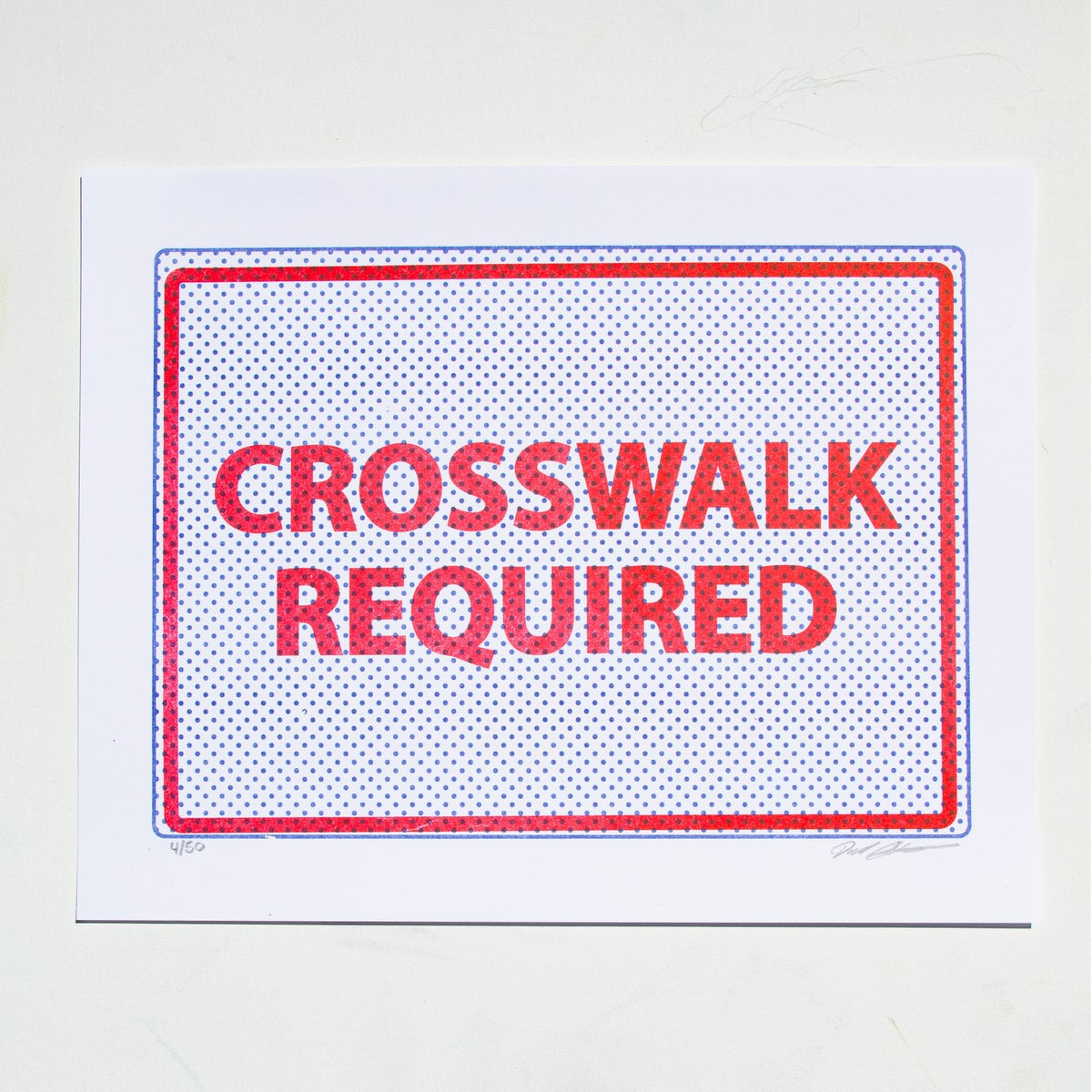 Image of Crosswalk Required