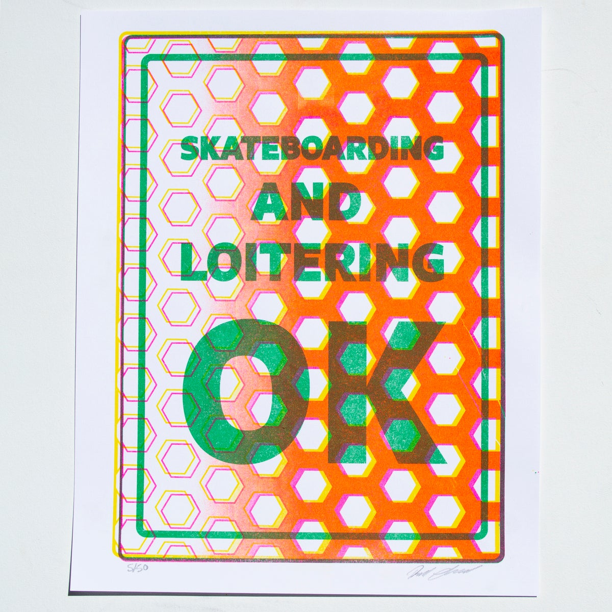 Image of Skateboarding and Loitering OK