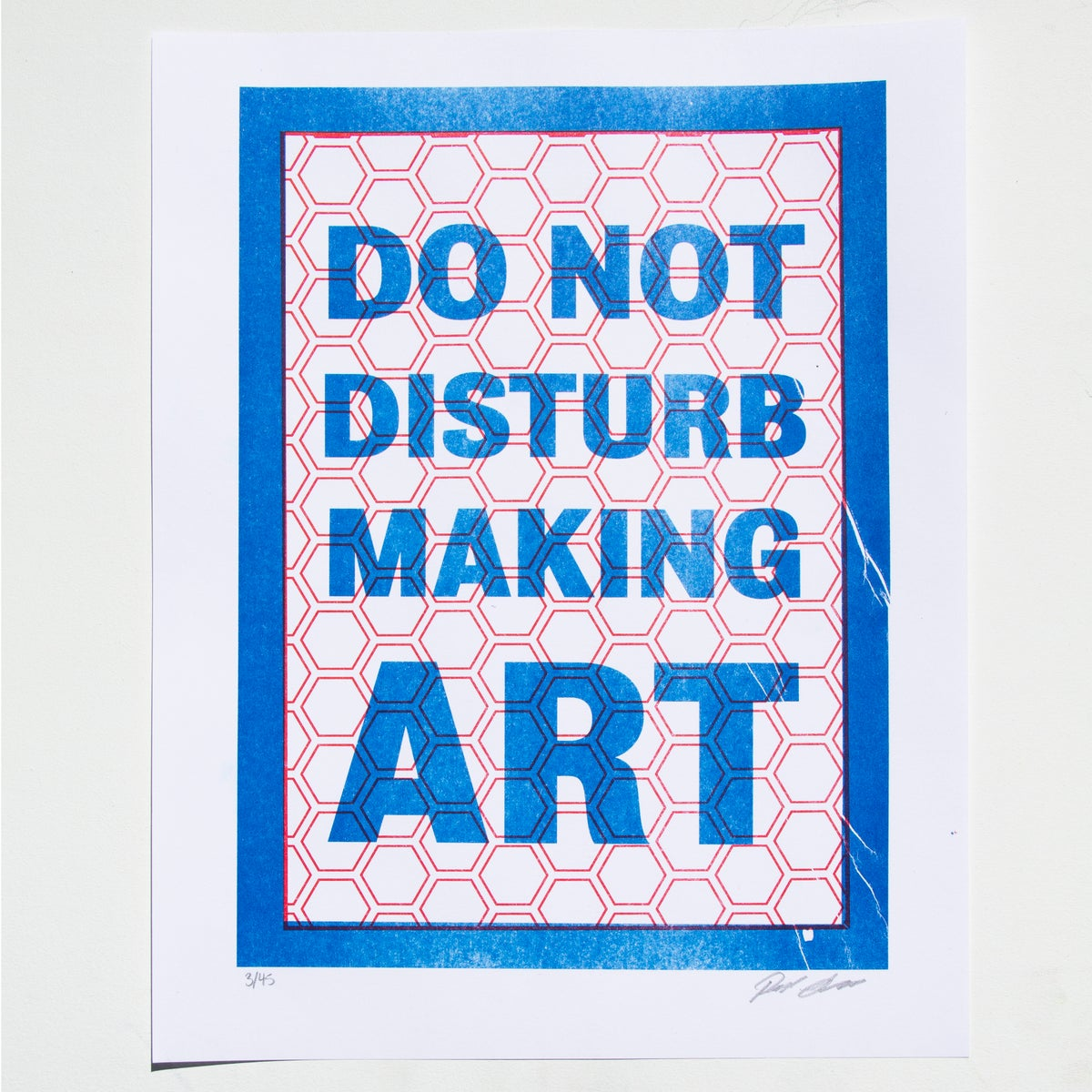 Image of Do Not Disturb Making Art
