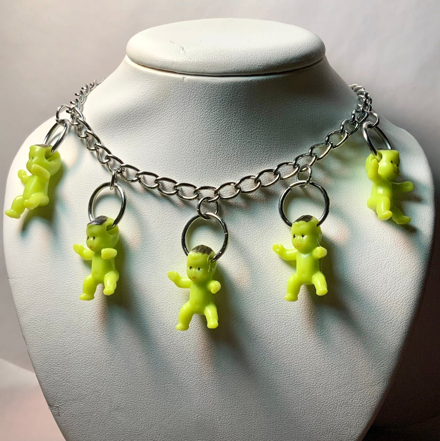 Image of Alien Baby Chain Necklace