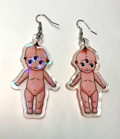 Image of Kewpie Baby Earrings