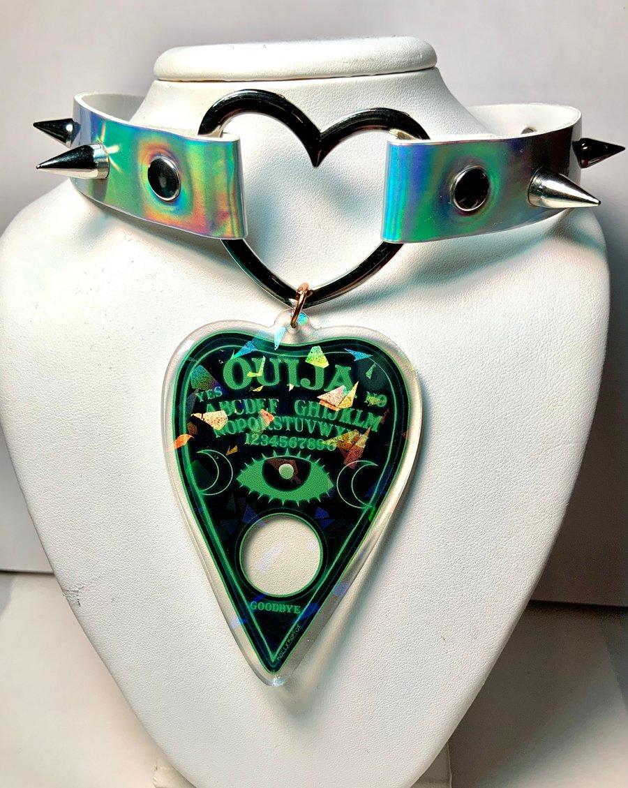 Image of Green Ouija Choker
