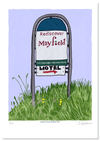 Mayfield Sign