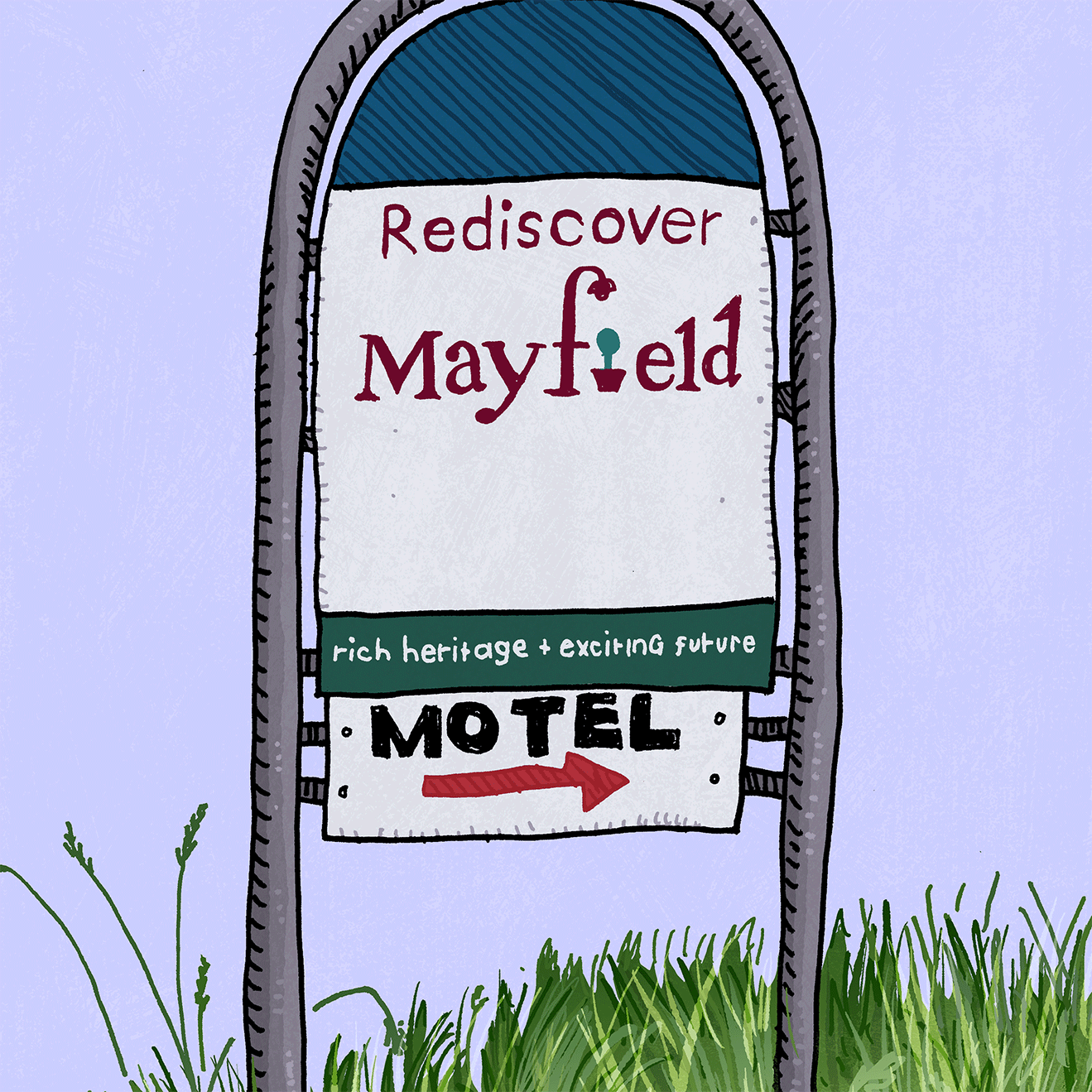 Image of Mayfield Sign