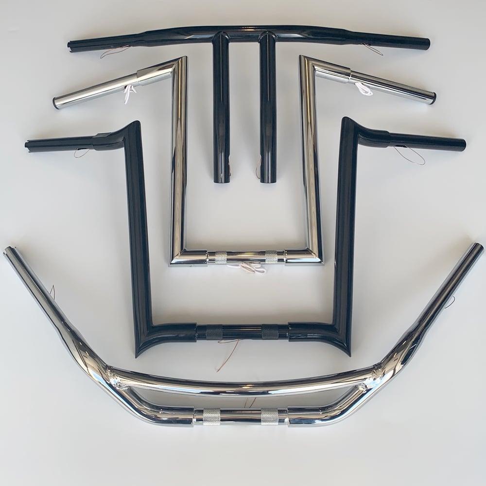 "Image of 1-1/4"" Handlebars (Black & Chrome Available)"