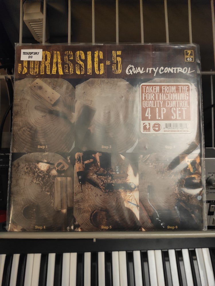 Image of Jurassic 5 ‎– Quality Control 7""