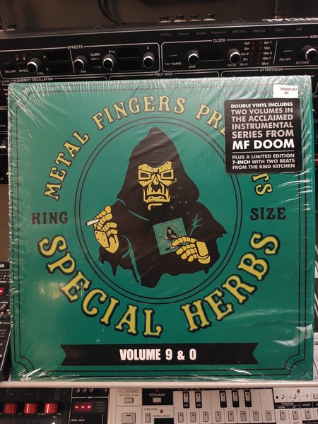 Image of Metal Fingers ‎– Special Herbs Volume 9 & 0
