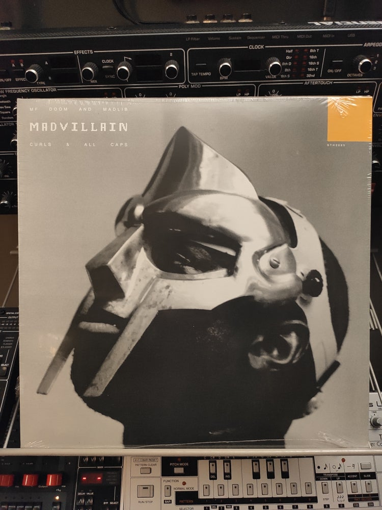 Image of Madvillain ‎– Curls & All Caps