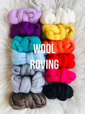 Image of Wool Roving 2