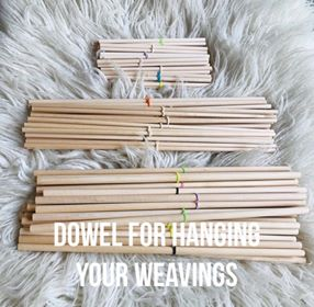 Image of Dowel for hanging your Weavings