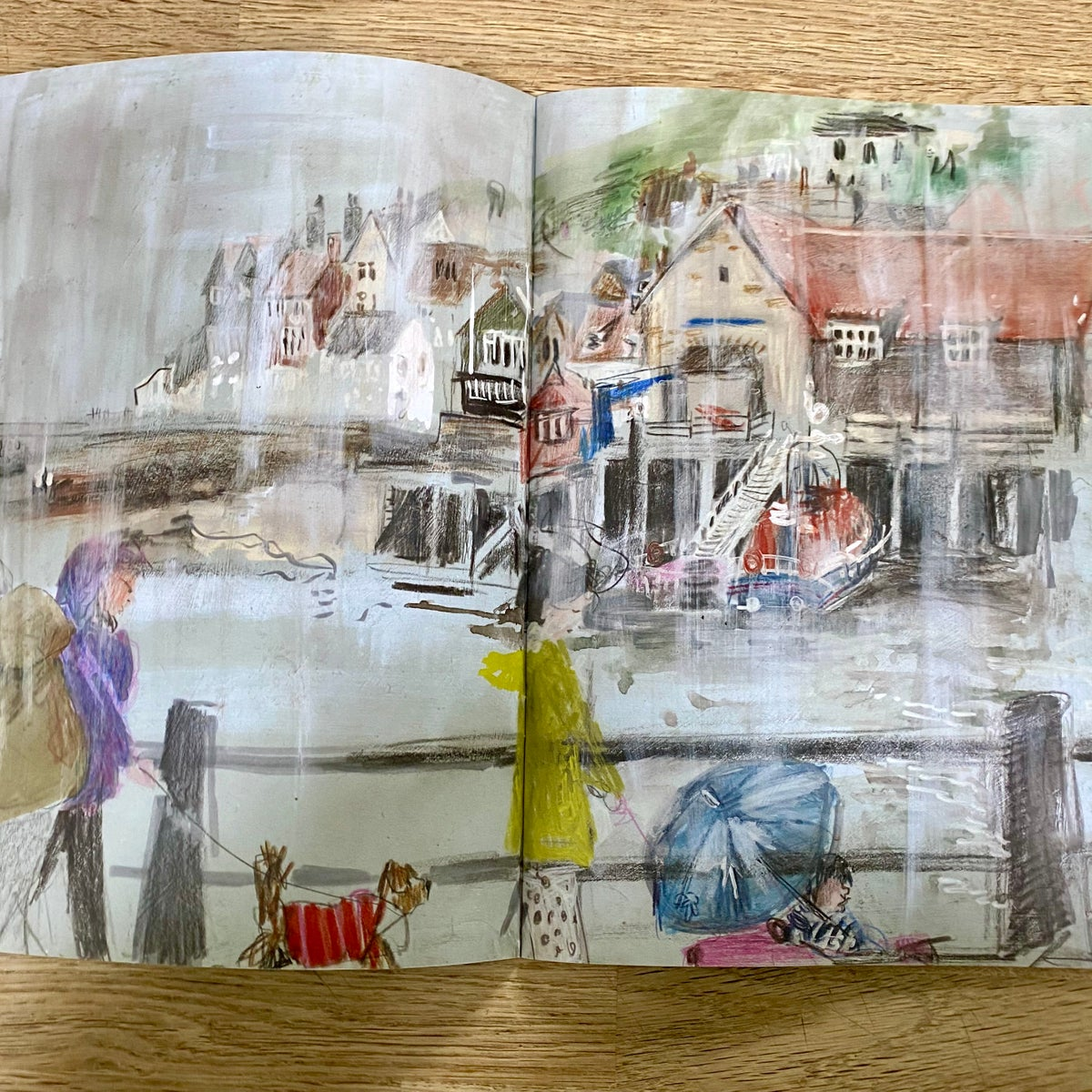Image of Seaside Sketches - sketchbook zine