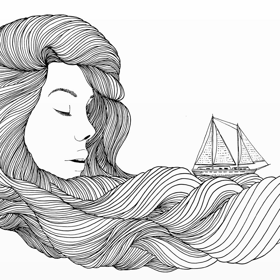 Image of Print: Sea Wind