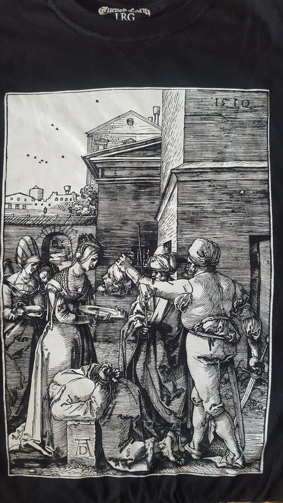 Image of The beheading of saint john the baptist.