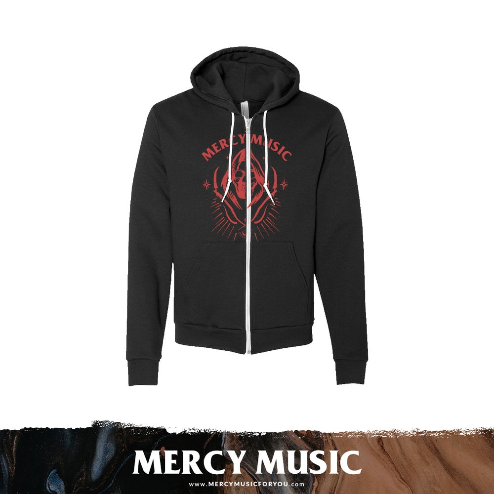Image of Reaper Zip Up Hoodie