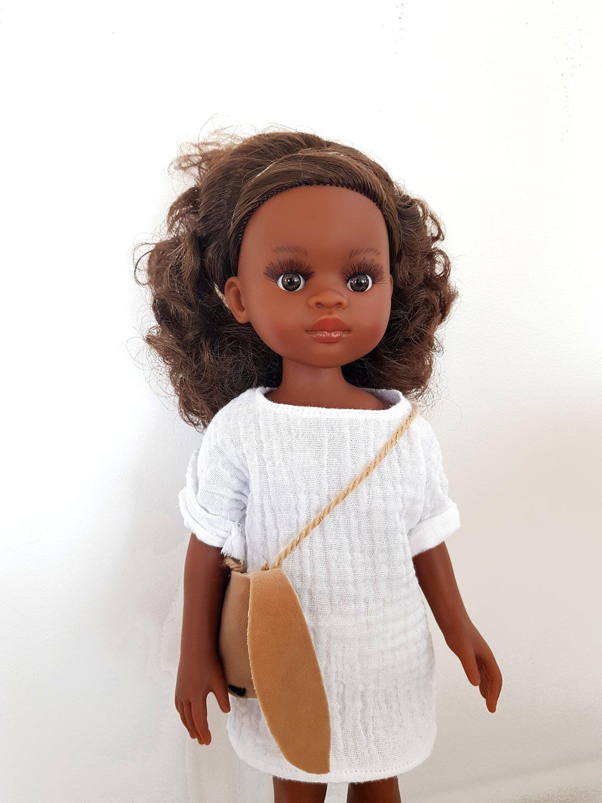 Image of ROBE pour poupée- COLLECTION Lapin de Pâques - - édition limitée