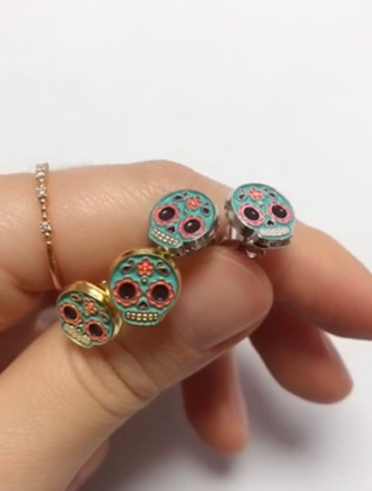 Calaveritas Stud Earrings