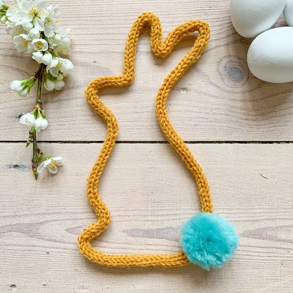 Image of Knitted Wire Bunny