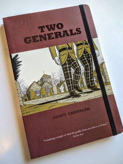 Image of TWO GENERALS autographed copy