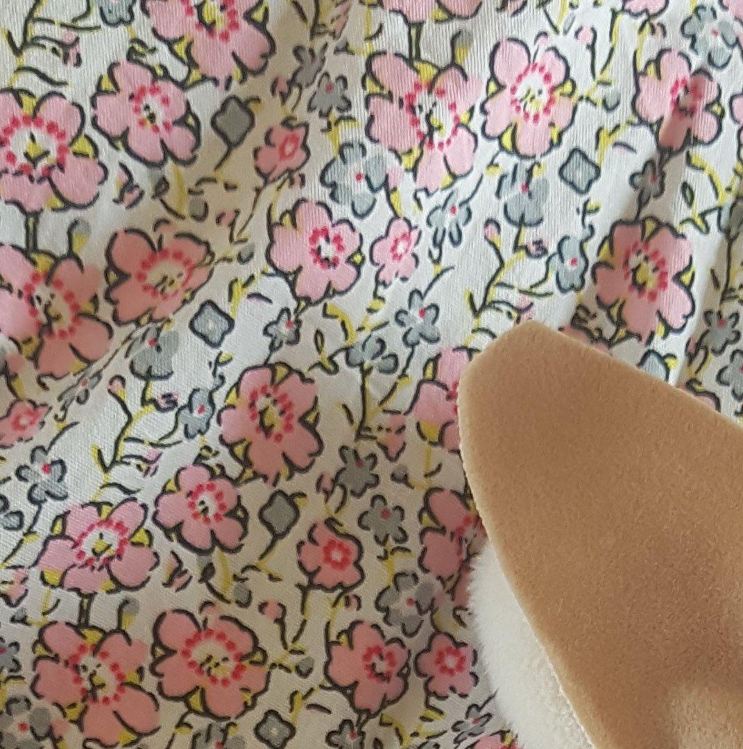 Image of BEGUIN de poupée uni ou fleuri- COLLECTION Lapin de Pâques-édition limitée