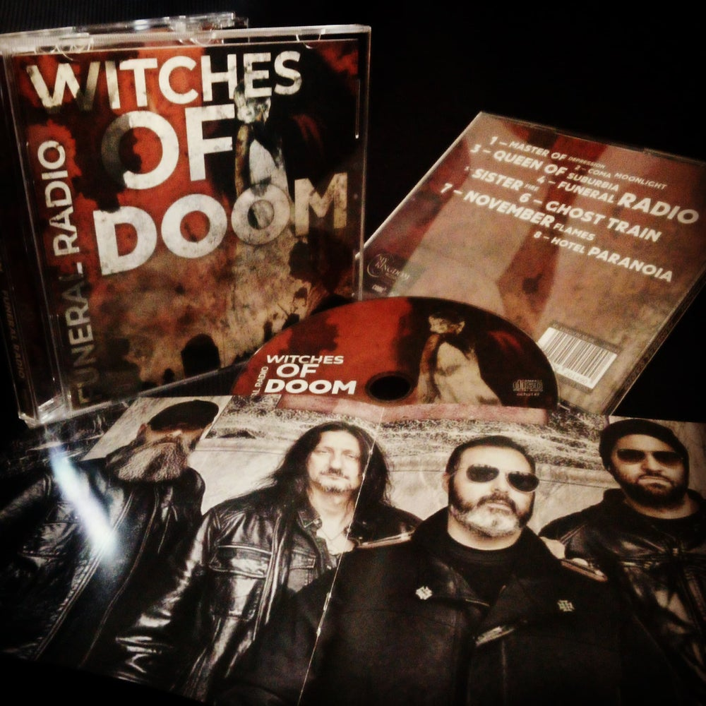 """WITCHES OF DOOM """"Funeral Radio"""" CD"""