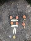 Brass Statement Necklace Set