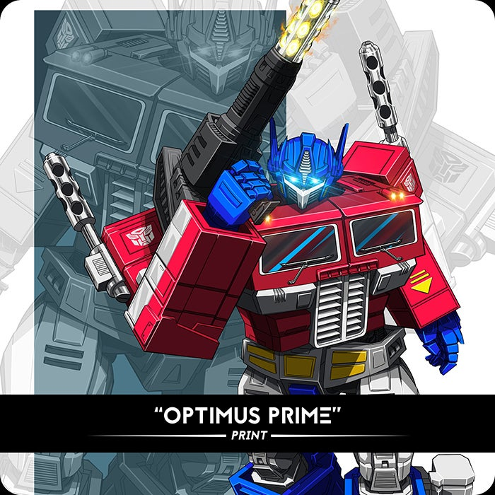Image of Optimus - Print