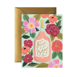 Image of CARTE DOUBLE HAPPY BIRTHDAY FIESTA (DEUX MODÈLES), RIFLE PAPER CO.