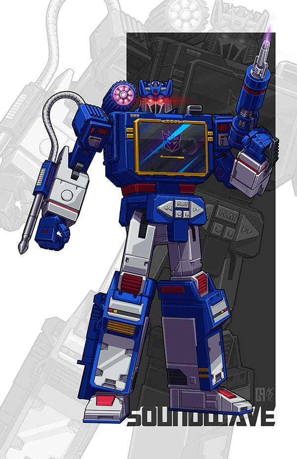 Image of Soundwave - Print