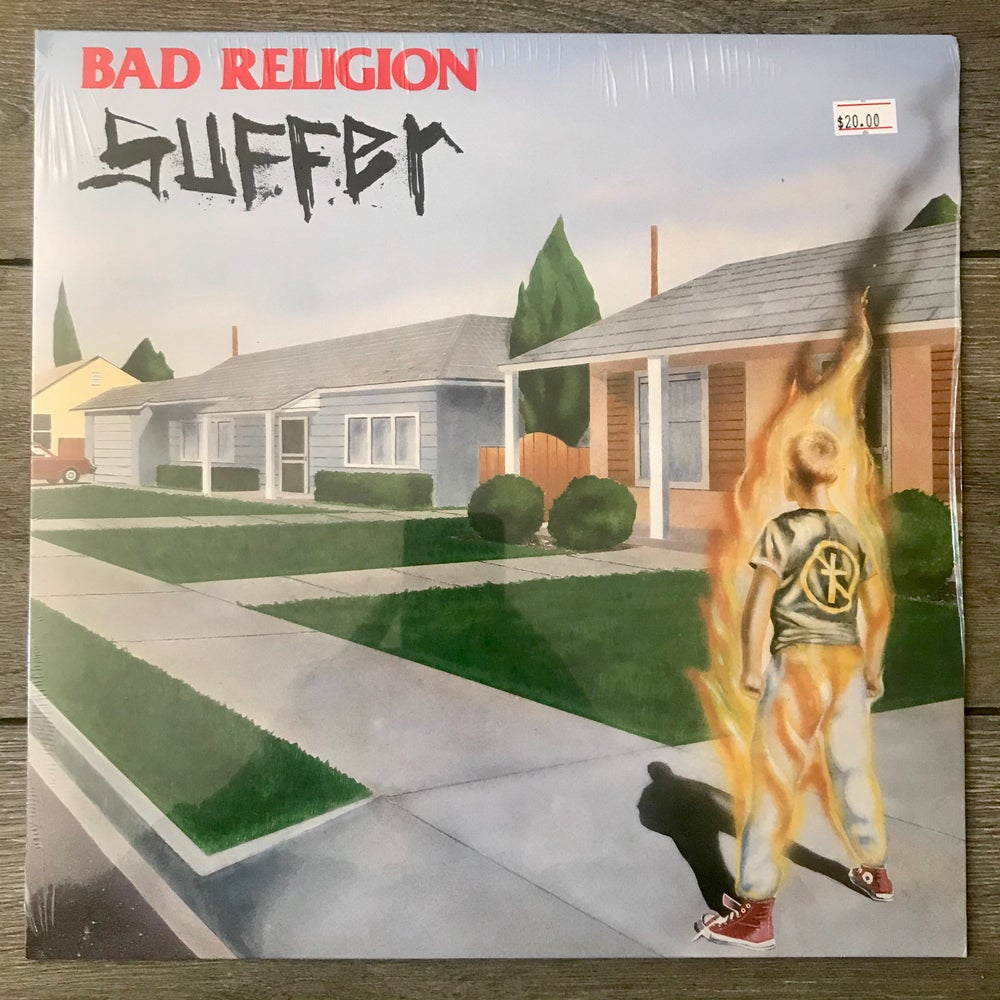 Image of Bad Religion - Suffer Vinyl LP