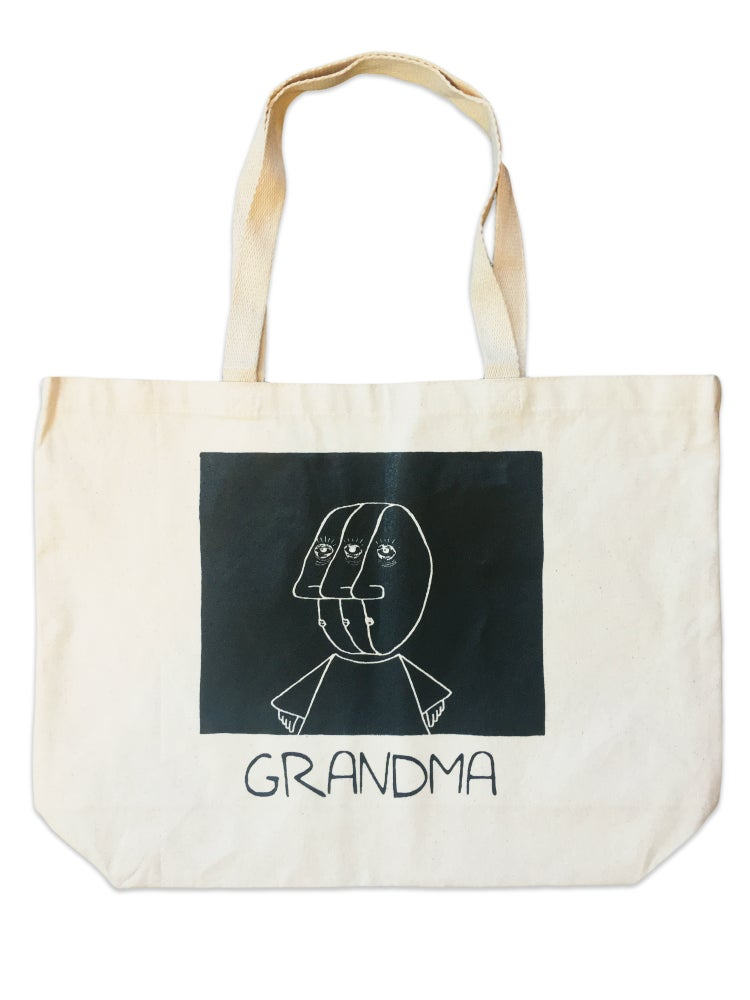 Image of 3 Head Tote (Natural)