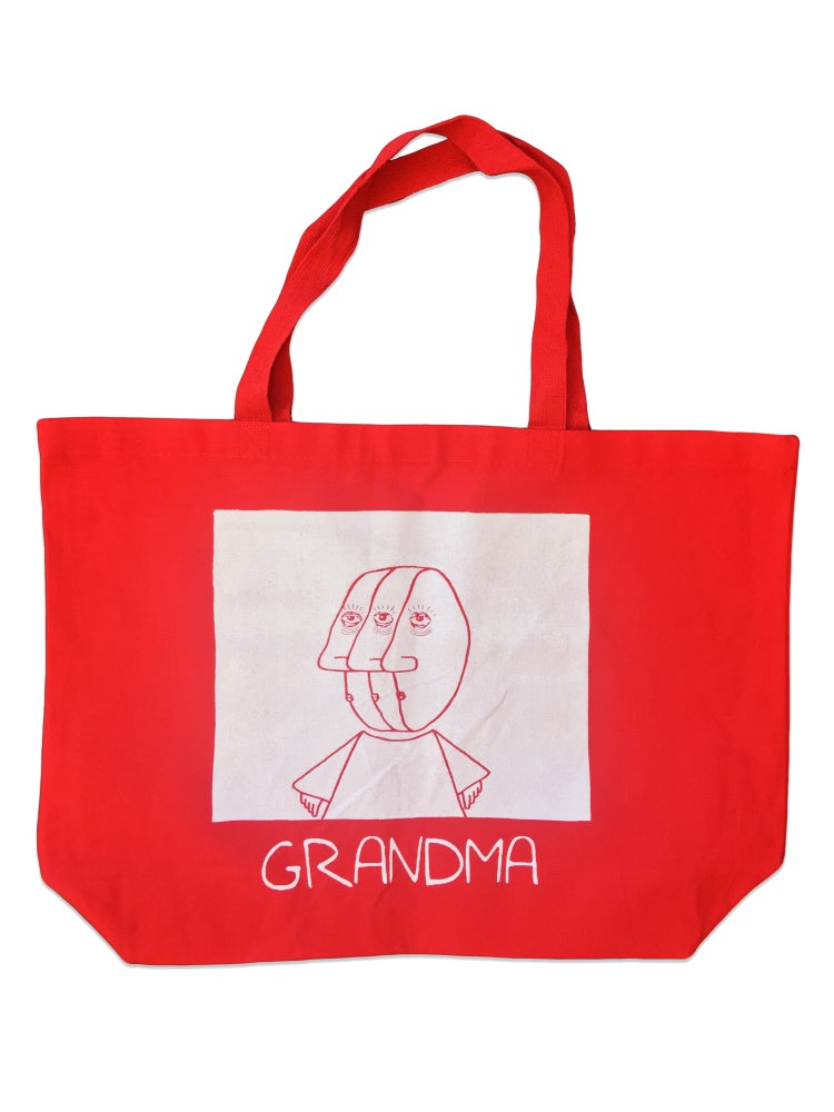 Image of 3 Head Tote (Red)