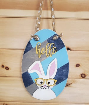 Image of Craft at Home Kit - Easter Door Hanger